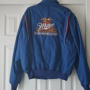 Miller Brewing Company Vintage Quilted Jacket